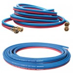 Single and twin welding hoses